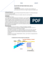 MODELOS DE INYECCION DE AGUA