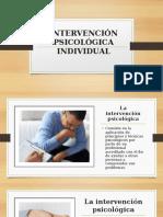 INTERVENCIÓN PSICOLÓGICA INDIVIDUAL- Carlos ramos.pptx