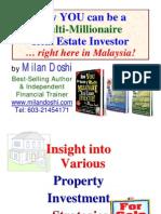 Milan Doshi-Multi Millionaire Real Estate Investor