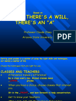 Where Theres a Will Theres an A.ppt