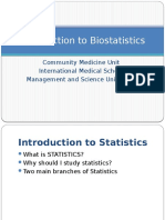 01- Introduction to biostatistics