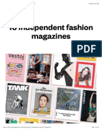 10 independent fashion magazines - STACK magazines