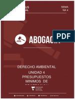 UNIDAD 4  PRESUPUESTOS MINIMOS
