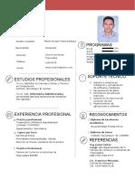 CV Marvin Enrique Ventura Nolasco