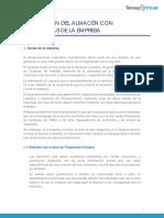 IV. Relación Del Almacén Con Otras Áreas de La Empresa