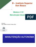 5. Manutenção Autónoma