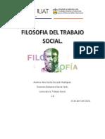 FILOSOFIA DEL TRABAJO SOCIAL