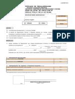 Certificado de Regularización (Permiso y Recepción Definitiva) (Vigencia prorrogada por art. 21141, DO 31_01_2019
