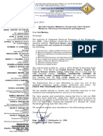 INitiation letter