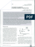 Assessing the yield Point of Concrete steels based upon Known Chemical Composition
