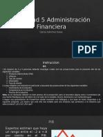Actividad 5 Administración Financiera