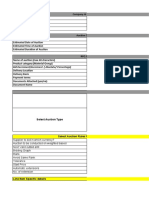 Auction Requirement Template-
