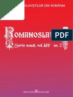 Romanoslavica Online 2 - 2018.pdf