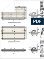 structural shop drawing of utility gallery