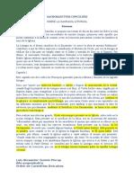 resumen del SACROSANCTUM CONCILIUM (Recuperado automáticamente)