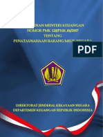 PMK2007-120 Penatausahaan BMN