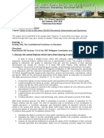 assignment school legislation