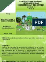 Biodiversidad y Sociodiversidad. Unidad v.parte 2 Diversidad en Ecosistemas