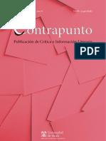 Revista Contrapunto de Crítica e Información Literaria (Universidad de Alcalá). Número 39