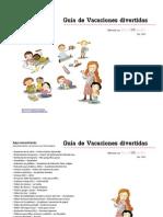Guía para vacaciones divertidas - 2011