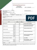 fms score sheet