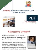 LITERAȚIA,  ALTERNATIVĂ EDUCAȚIONALĂ  ÎNTR-O LUME DIGITALĂ