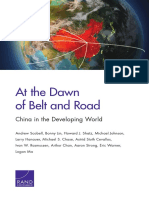 RAND兰德公司一带一路研究报告《At the Dawn of Belt and Road,China in the Developing World》.pdf