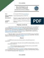 NSACSS P 6-22 20191121 HANDLING OF NSA-CSS INFORMATION STORAGE MEDIA