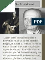 Filoofia rom. l. blaga