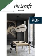 Ethnicraft Corporate Press Kit 2018