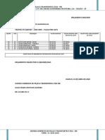 ORÇAMENTO 003-2020 - TRATOR 275 MASSEY – ANO 2005 – PLACA PMC 0275