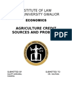 AGRICULTURAL CREDIT.docx