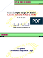 Logic Design Chap5