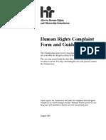Wells Human Rights Complaint