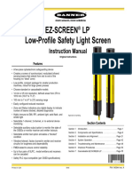 Cortina de luz EZ-SCREEN Low-Profile 140044
