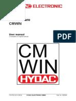 HYDAC - Electronics -- CMWIN