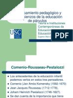 03 El pensamiento pedagogico y los comienzos de la.pdf