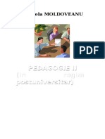 Curs Metodică Pedagogie II