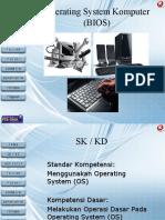 D. Sistem Operasi Dasar(BIOS)