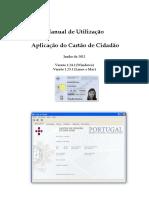 Manual de Utilização da Aplicação do Cartão de Cidadão
