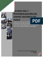 Estudio vial y peatonalización del Centro Histórico del Cusco