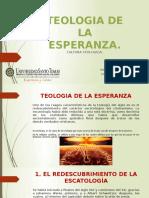 TEOLOGIA DE LA ESPERANZA