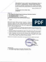 SE Dirjen Bina Konstruksi - Tata Cara Penyampaian Revisi Daftar Calon Anggota Pokja ULP - 26 Feb 19
