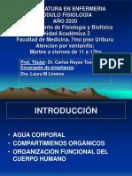 CLASE INAUGURAL FISIOLOGIA  2020