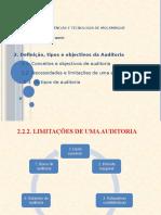 060420 Conceito, Objectivos e Tipos de Auditoria