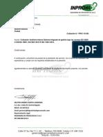 COTIZACION IPHC -19-260 AUDITORIA SVE