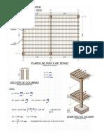 1.4 Diseño de columna de madera