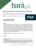 RELAÇÕES IDENTITÁRIAS O ALUNO INDÍGENA NA UNIVERSIDADE