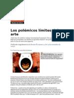 Los polémicos límites del arte