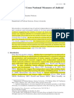 Rios-Figueroa & Staton, An Evaluation of Cross-National Measures of Judicial Independence (2014)